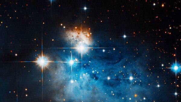 Caldwell 99 es una nebulosa oscura , una densa nube de polvo interestelar que bloquea completamente las longitudes de onda de luz visibles de los objetos detrás de ella - Sputnik Mundo