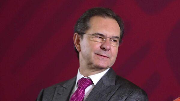 Esteban Moctezuma, secretario federal de Educación de México - Sputnik Mundo