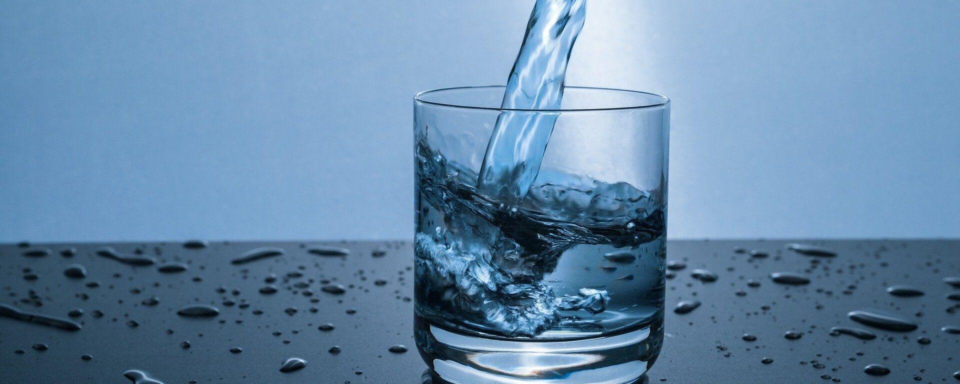 Un vaso de agua (imagen referencial) - Sputnik Mundo, 1920, 22.03.2021
