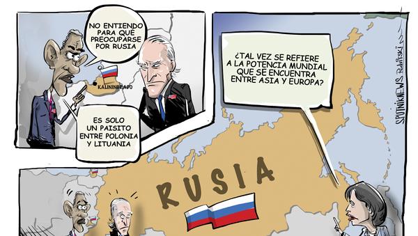 Le aconsejan a Biden que tenga en cuenta Rusia - Sputnik Mundo