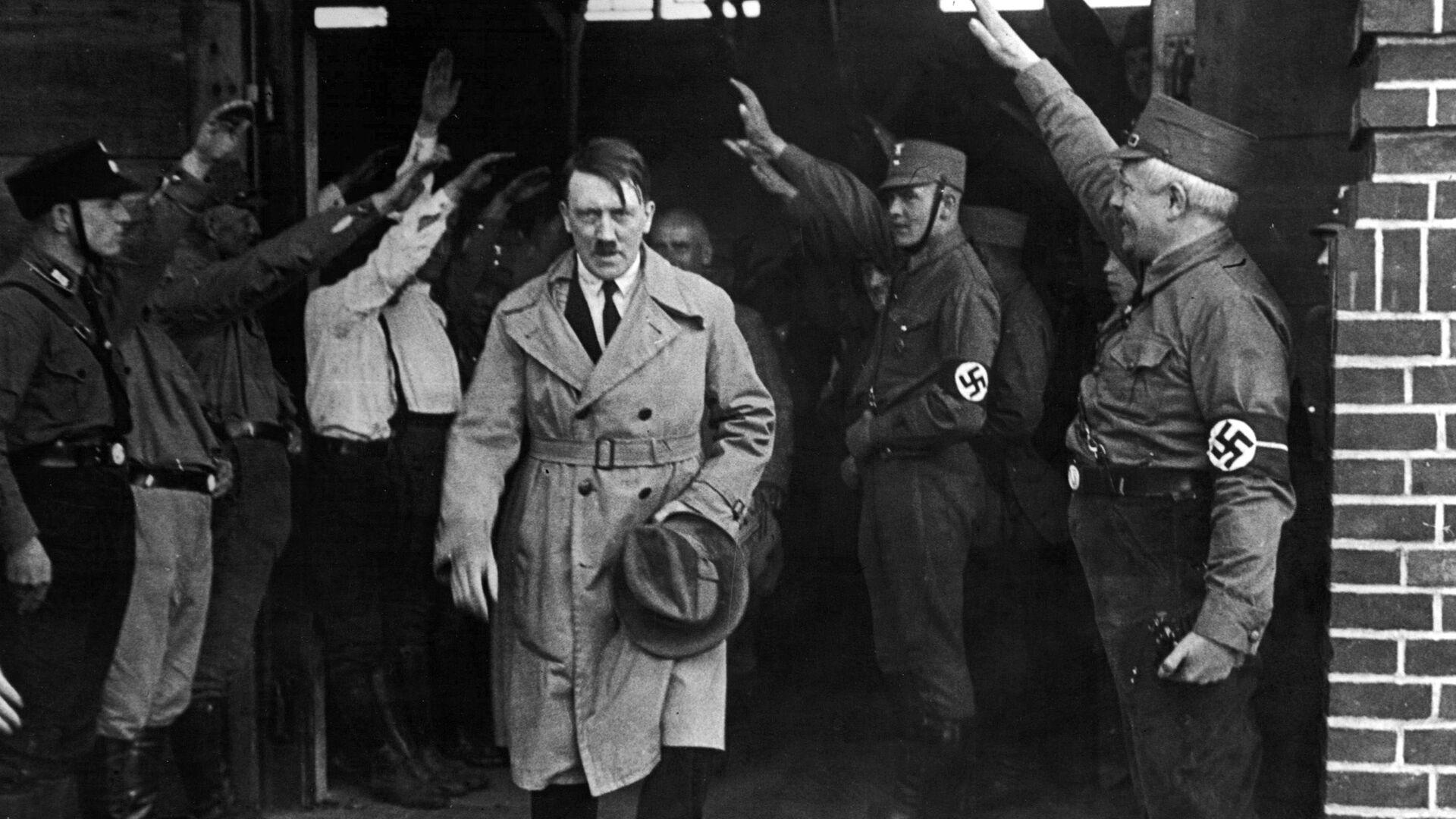 Adolf Hitler, líder de la Alemania nazi (archivo) - Sputnik Mundo, 1920, 12.02.2021