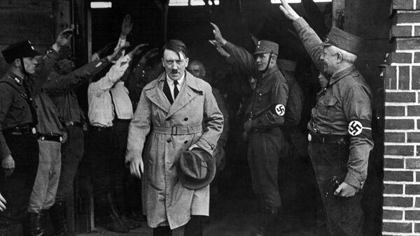Adolf Hitler, líder de la Alemania nazi (archivo) - Sputnik Mundo