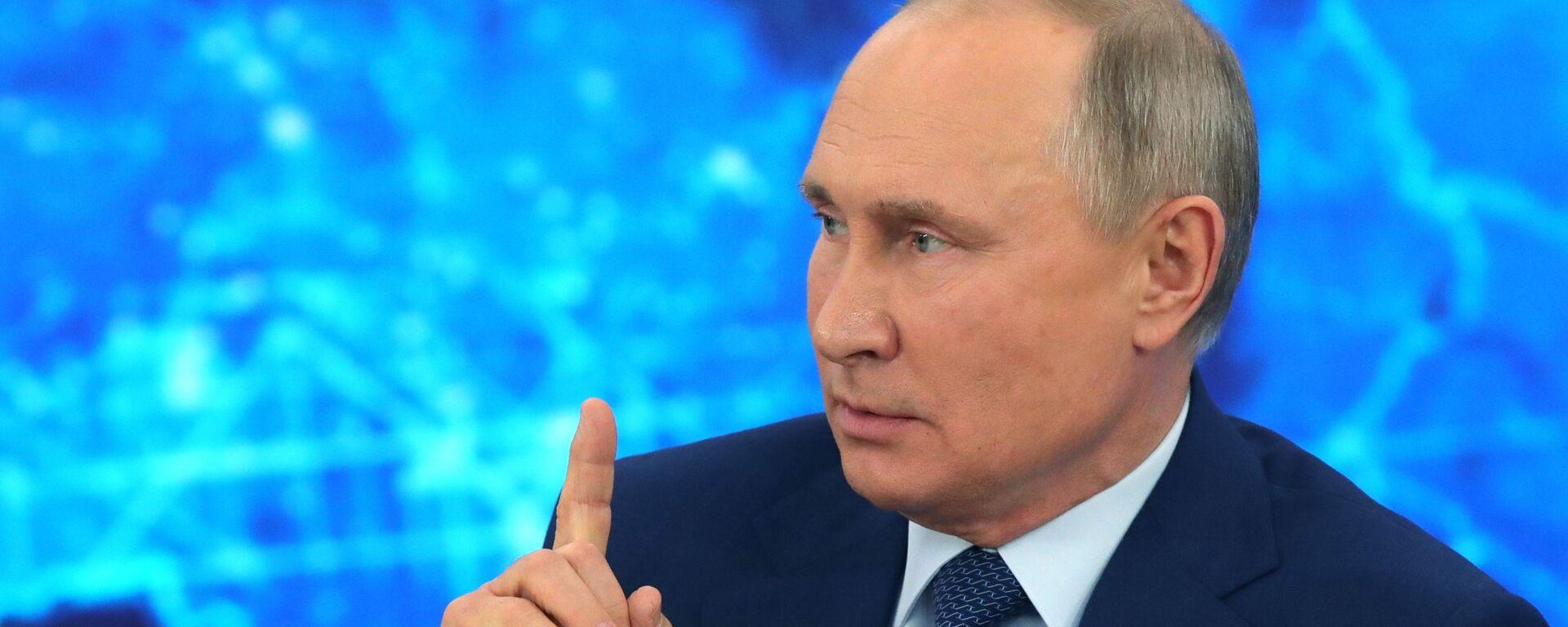 La gran rueda de prensa anual del presidente ruso, Vladímir Putin - Sputnik Mundo, 1920, 20.05.2021