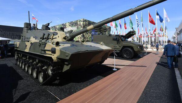 Sprut-SDM1, cañón antitanque ruso - Sputnik Mundo