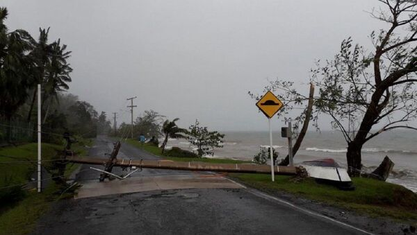 Ciclón Yasa en Fiyi - Sputnik Mundo