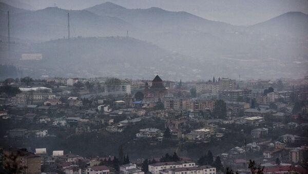 Situación en Stepanakert, Nagorno Karabaj - Sputnik Mundo