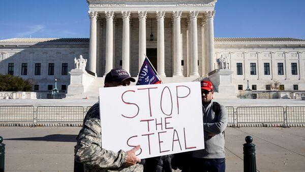 Protestas en Texas, EEUU tras las elecciones presidenciales - Sputnik Mundo