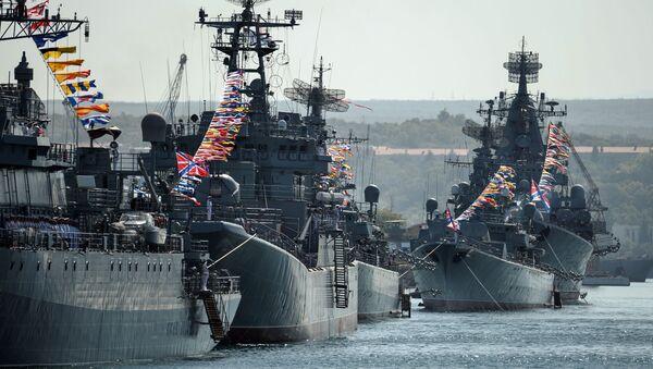 Buques de la Flota del Mar Negro de Rusia - Sputnik Mundo