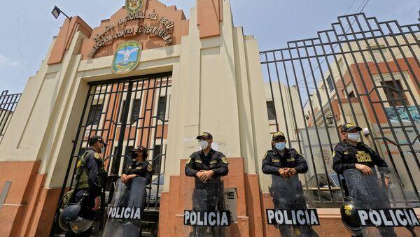Policía Antiterrorismo de Perú - Sputnik Mundo