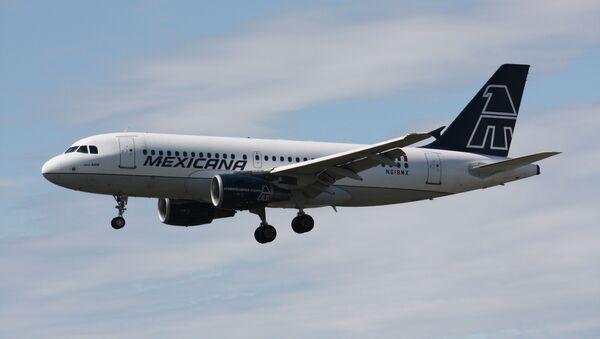 Un Airbus A319 de Mexicana de Aviación (Archivo) - Sputnik Mundo