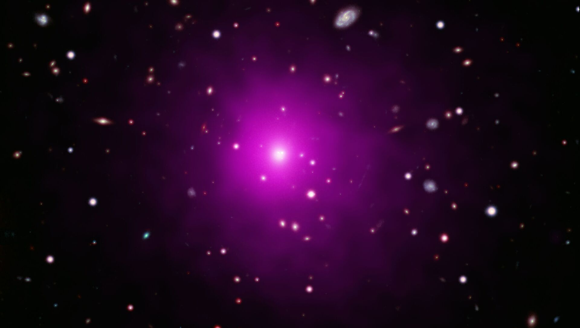 La agrupación galáctica Abell 2261 - Sputnik Mundo, 1920, 19.12.2020