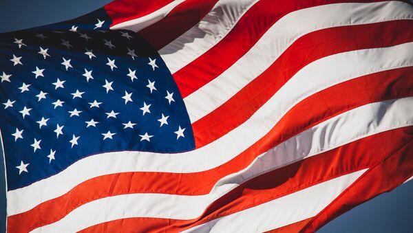 La bandera de Estados Unidos - Sputnik Mundo