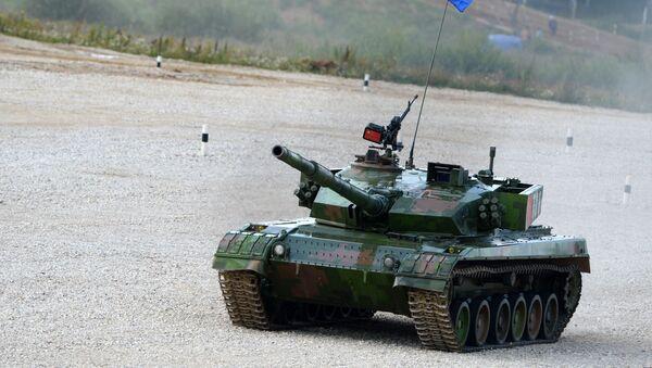 Un tanque chino Tipo 96 (archivo) - Sputnik Mundo