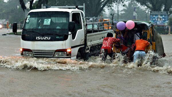 Las consecuencias de la depresión tropical Vicky en Filipinas - Sputnik Mundo