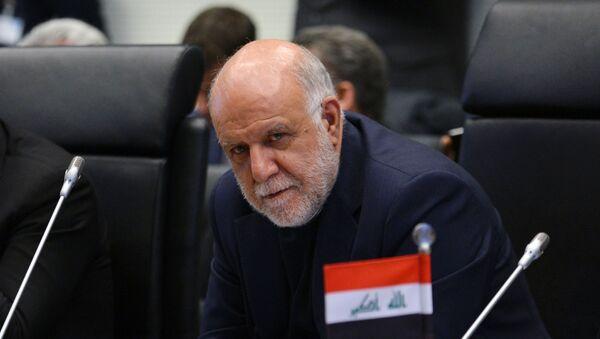 Biyán Zangané, ministro de petróleo iraní - Sputnik Mundo