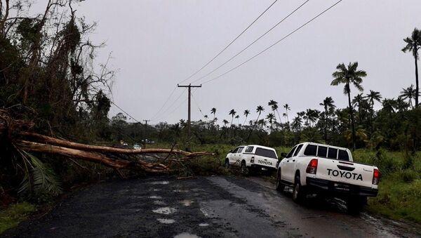 Consecuencias del ciclón Yasa en Fiyi - Sputnik Mundo