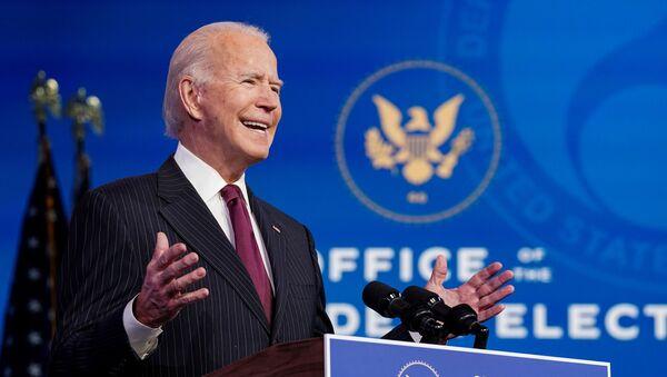 Joe Biden, presidente electo de EEUU - Sputnik Mundo