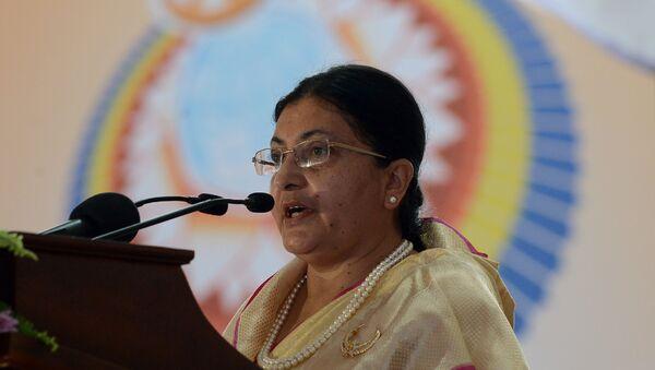 Bidya Devi Bhandari, la presidenta de Nepal - Sputnik Mundo