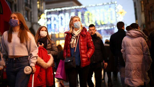 Coronavirus en el Reino Unido - Sputnik Mundo