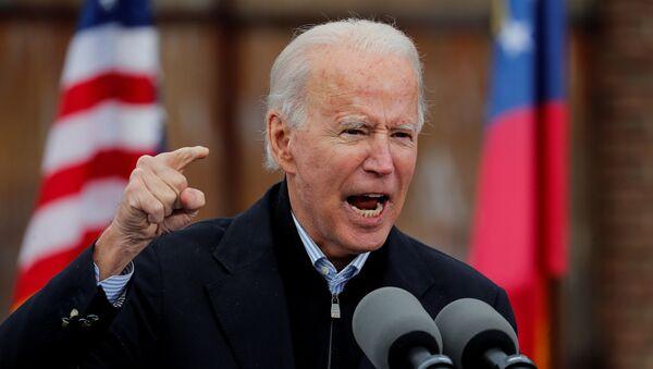 El presidente electo de EEUU, Joe Biden - Sputnik Mundo
