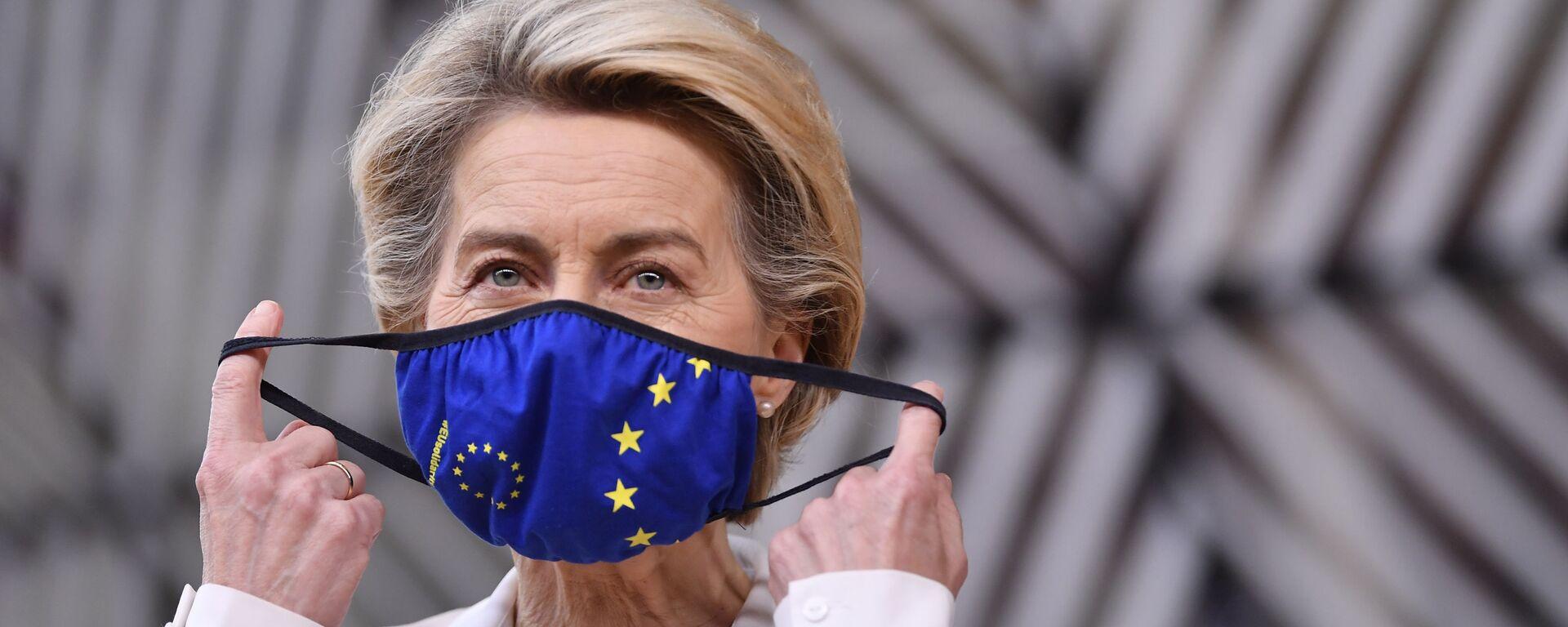 La presidenta de la Comisión Europea, Ursula von der Leyen - Sputnik Mundo, 1920, 20.08.2021