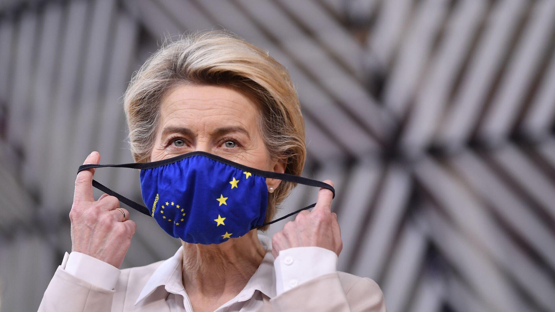 La presidenta de la Comisión Europea, Ursula von der Leyen - Sputnik Mundo, 1920, 17.08.2021