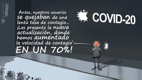 COVID 2.0: llega la actualización del coronavirus - Sputnik Mundo