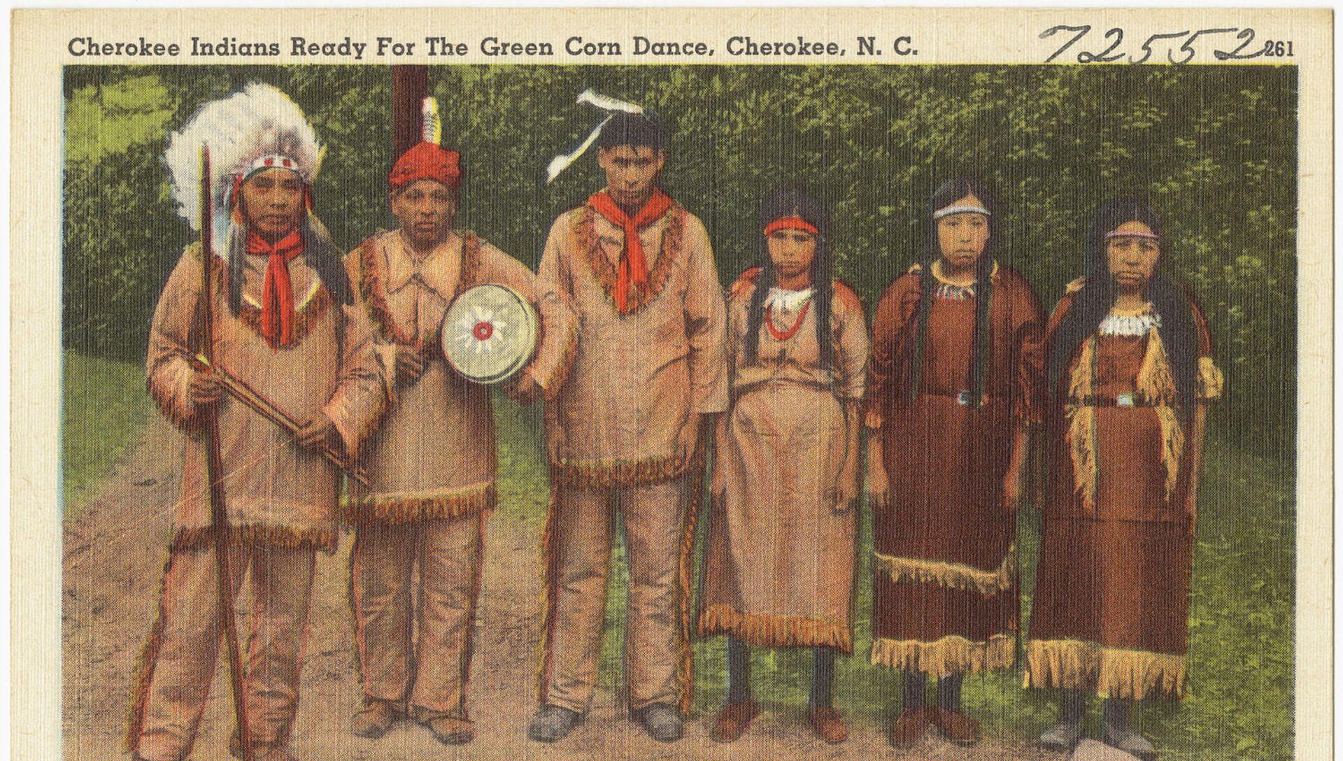 Cherokees (1930 - 1945) - Sputnik Mundo, 1920, 21.12.2020