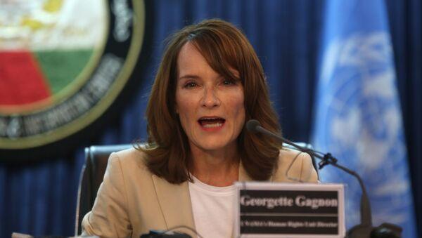 Georgette Gagnon, coordinadora residente y humanitaria para Libia de la ONU - Sputnik Mundo