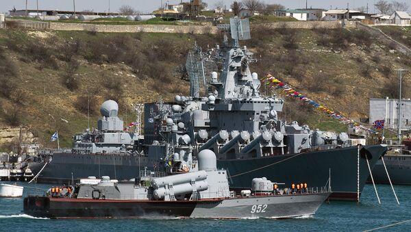 Los buques de la flota rusa del mar Negro  - Sputnik Mundo