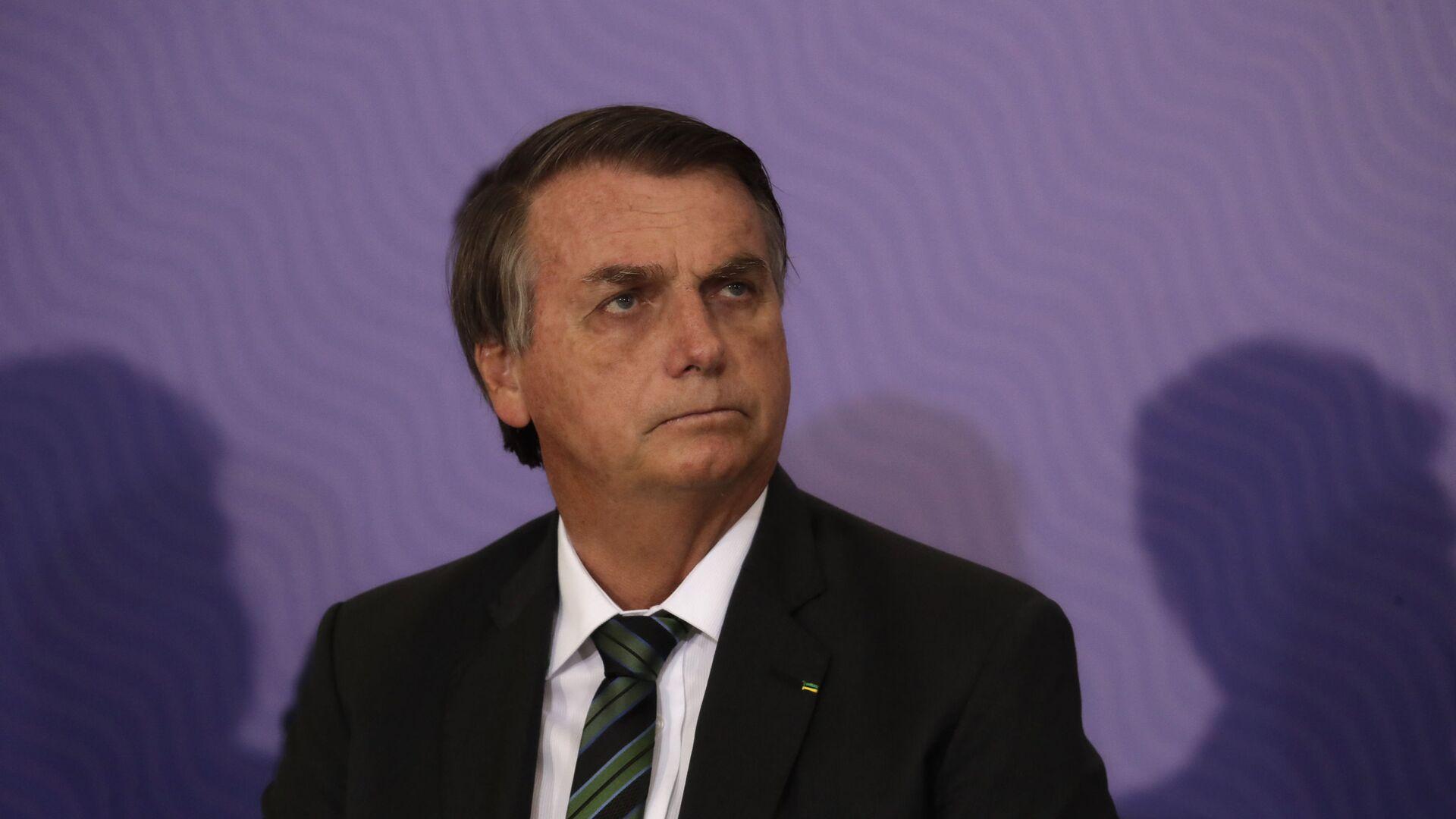 El presidente de Brasil, Jair Bolsonaro - Sputnik Mundo, 1920, 29.03.2021