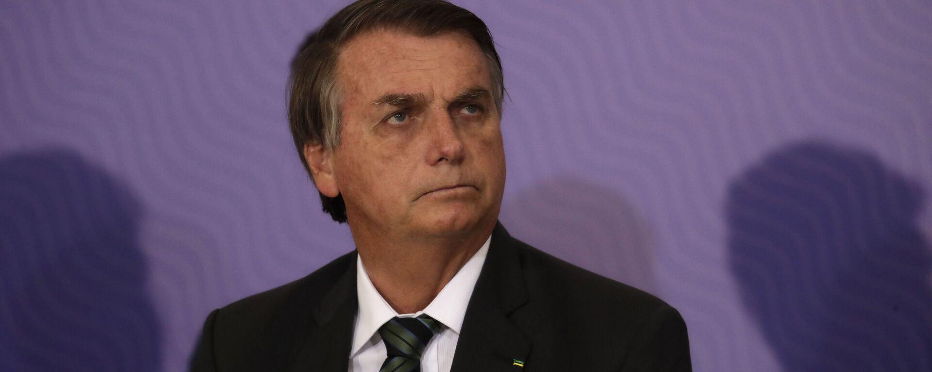El presidente de Brasil, Jair Bolsonaro - Sputnik Mundo, 1920, 19.07.2021