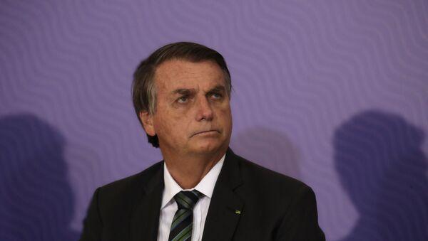 El presidente de Brasil, Jair Bolsonaro - Sputnik Mundo