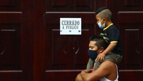 La Ciudad de México durante el semáforo rojo por la pandemia de COVID-19 - Sputnik Mundo