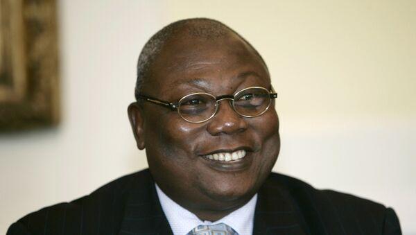 Martin Ziguele, candidato a la presidencia de la República Centroafricana (RCA) por el Movimiento para la Liberación del Pueblo Centroafricano - Sputnik Mundo