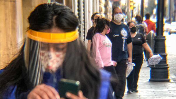 La capital mexicana vuelve al semáforo rojo por la crítica situación sanitaria que vive a raiz de la pandemia - Sputnik Mundo