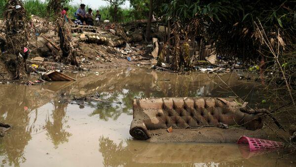 Las consecuencias de los huracanes Iota y Eta en Honduras - Sputnik Mundo