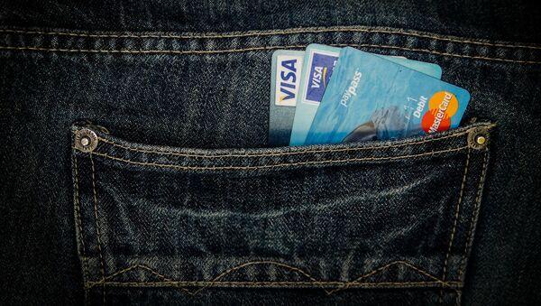 Imagen referencial de tarjetas de crédito - Sputnik Mundo