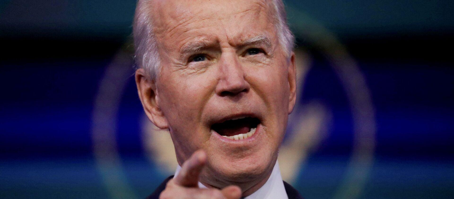 El presidente electo de EEUU, Joe Biden - Sputnik Mundo, 1920, 20.01.2021