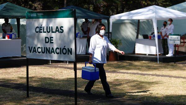 Preparación para la vacunación en México - Sputnik Mundo