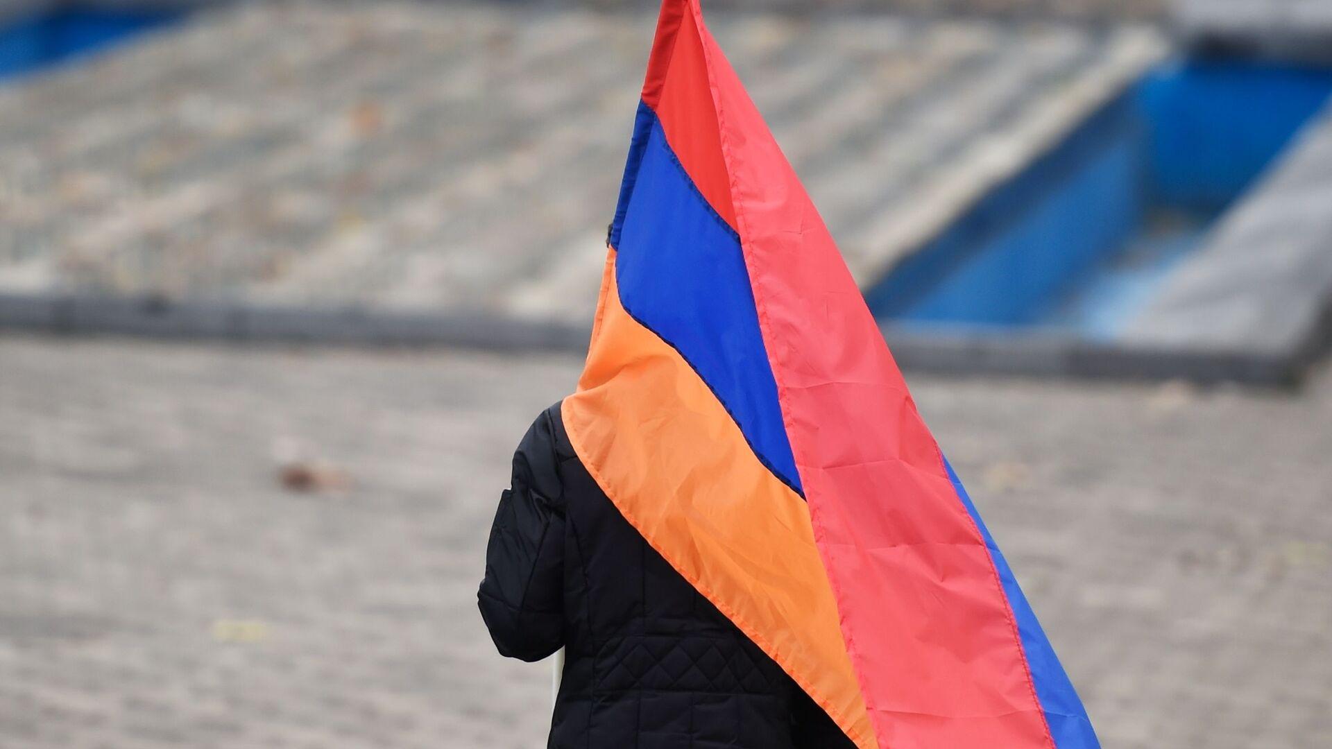 Protestas antigubernamentales en Ereván, Armenia - Sputnik Mundo, 1920, 20.06.2021