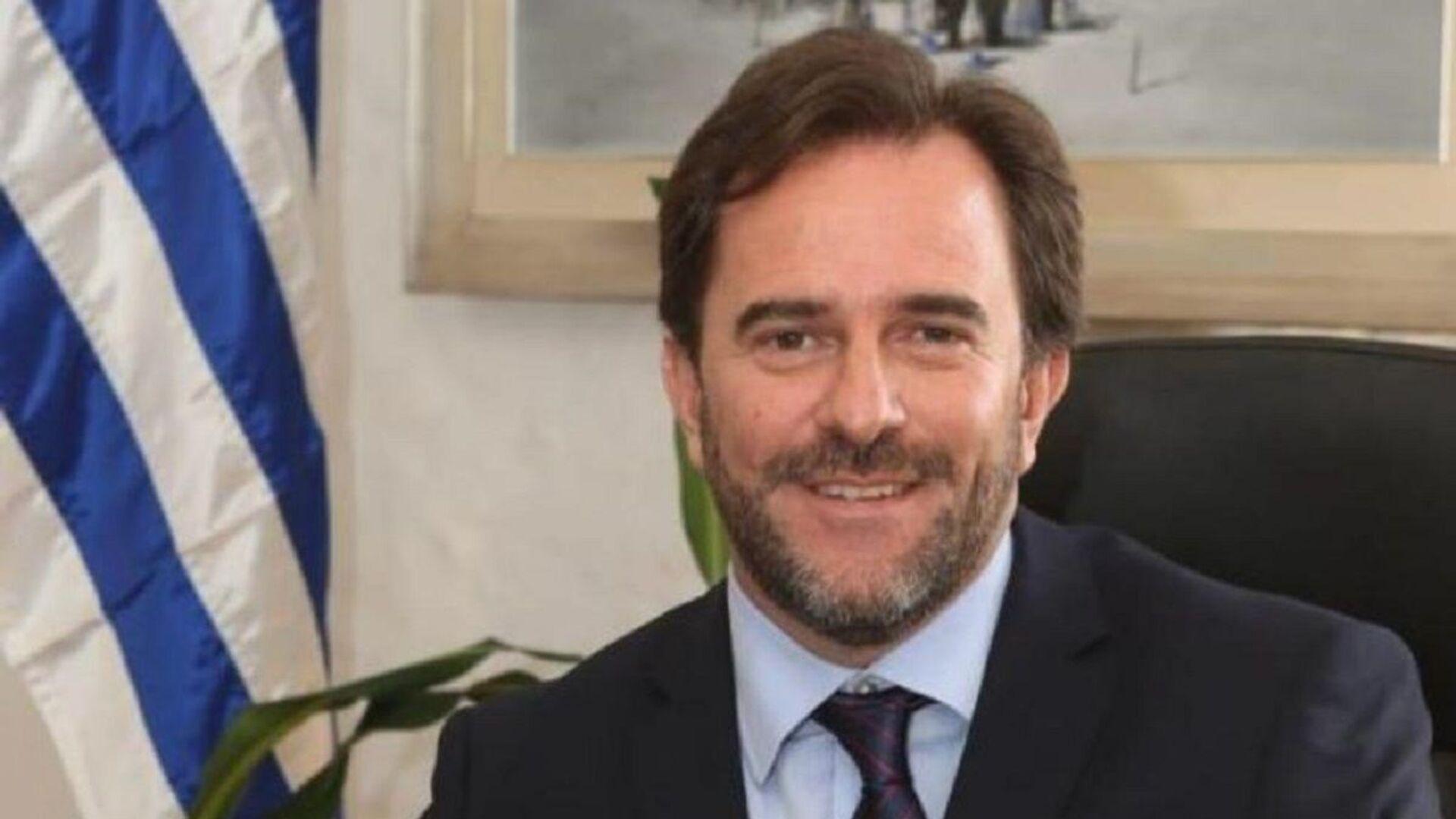 Germán Cardoso, ministro de Turismo de Uruguay - Sputnik Mundo, 1920, 11.08.2021