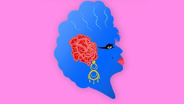 Ilustración de Carmen de Mairena para la serie sobre su vida - Sputnik Mundo