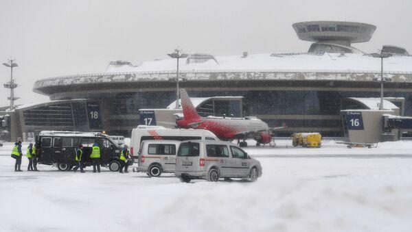 El aeropuerto Vnúkovo de Moscú, Rusia - Sputnik Mundo