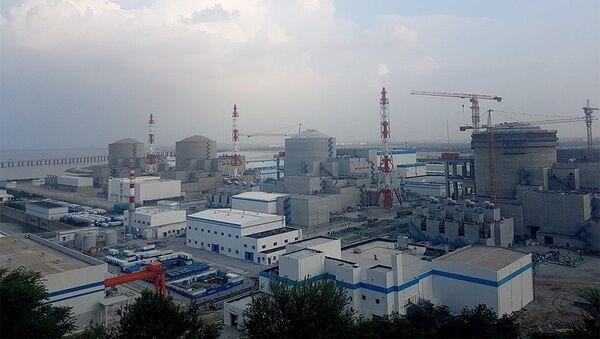 La central nuclear de Tianwan en China - Sputnik Mundo