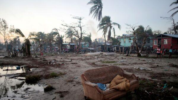 La ciudad de Bilwi, Nicaragua, tras el paso del huracán Iota - Sputnik Mundo