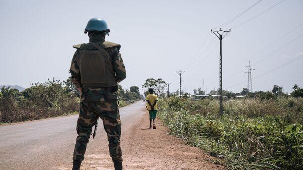 Fuerzas de paz de la ONU en República Centroafricana - Sputnik Mundo