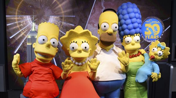 Disfraces de Los Simpson - Sputnik Mundo