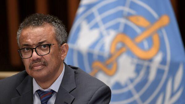 Tedros Adhanom Ghebreyesus, director general de la OMS - Sputnik Mundo