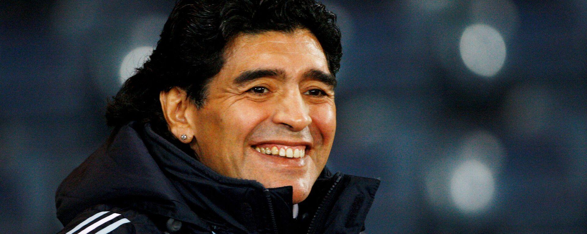 Diego Armando Maradona, exfutbolista argentino - Sputnik Mundo, 1920, 01.03.2021